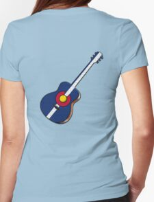 Colorado Rocks! Womens Fitted T-Shirt