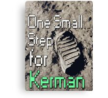 One Small Step for [a] Kerman... - KSP Canvas Print