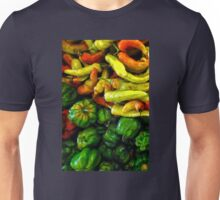 JALAPENOS AND PEPPERS Unisex T-Shirt