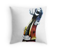 The Poetic Encounter (Larger File) Throw Pillow