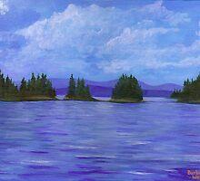 Maine Islands by Barbara Weir