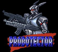 Probotector by Lupianwolf
