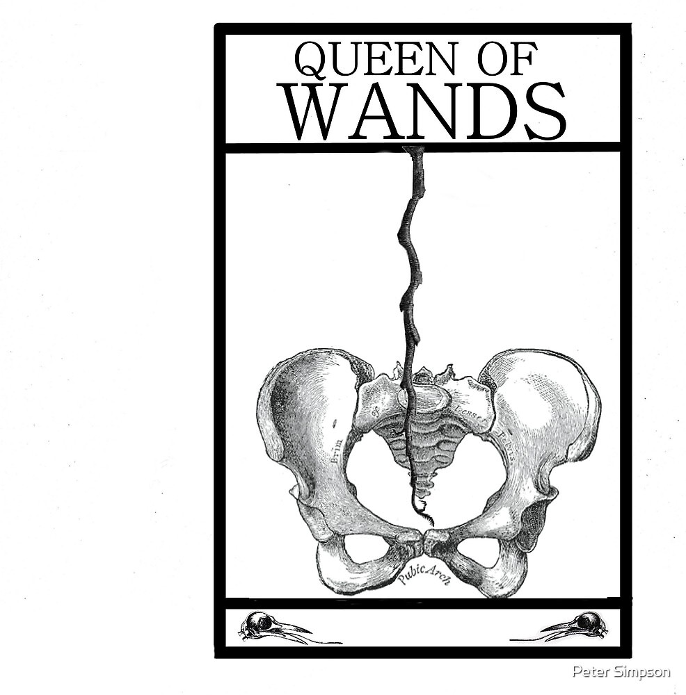 Queen of Wands by Peter Simpson