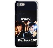 Sherlock & The Doctor  iPhone Case/Skin