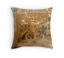 Glass Dining Throw Pillow