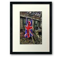 Workshop Patriotism Framed Print