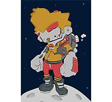 Space Boy Photographic Print