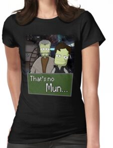That's No Mun - KSP Womens Fitted T-Shirt
