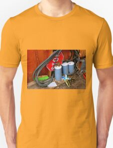 Garages Ail - Fancy Broom And Wind Chimes T-Shirt