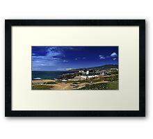 Cabo da Roca and Serra de Sintra Framed Print