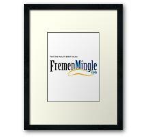 Fremen Mingle Framed Print