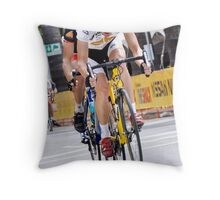 AMGEN 2010: On The Line Throw Pillow