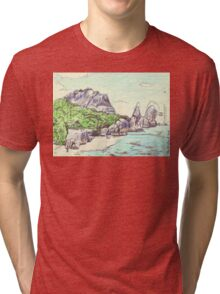 Pointe Source D'Argent Tri-blend T-Shirt