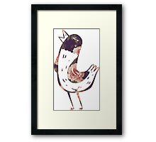 Hank Floral The Wonder Years Framed Print