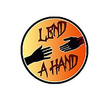 Lend a Hand...Literally Photographic Print