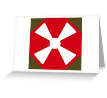 Eighth United States Army Greeting Card