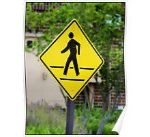 Pedestrian! Poster
