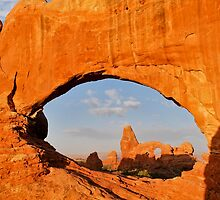 Turret Arch and North Window by Gregory Ballos | gregoryballosphoto.com