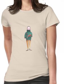 A Thumb in a Turtleneck Womens Fitted T-Shirt