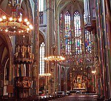St. Francis Xavier Church - Amsterdam by David J Dionne