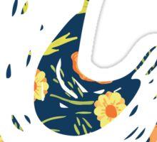 Hank Floral The Wonder Years Sticker