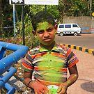 The green boy by Alan Gillam