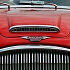 Austin Healey 3000 mk3 bonnet & grill by buttonpresser