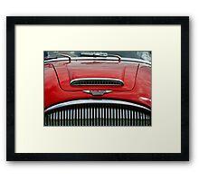 Austin Healey 3000 mk3 bonnet & grill Framed Print