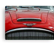 Austin Healey 3000 mk3 bonnet & grill Canvas Print