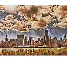 Fall in NYC Photographic Print