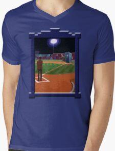 Dr. Who's on First Base Mens V-Neck T-Shirt