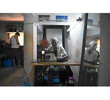 The tailors machine Photographic Print