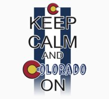 Keep Calm and Colorado On One Piece - Long Sleeve