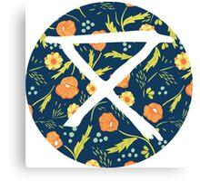 Safecamp circle logo Circa Survive Canvas Print