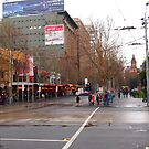 A rainy day in Melbourne VIC Australia  by Margaret Morgan (Watkins)