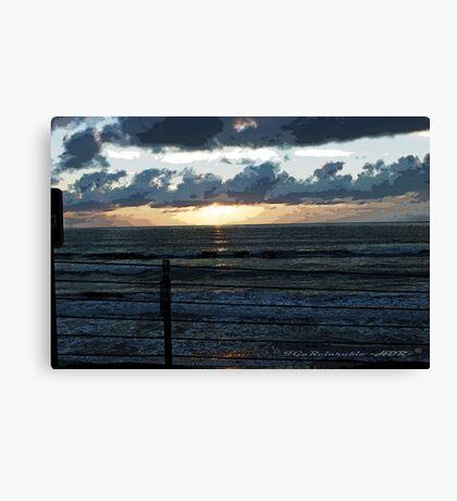 Painterly Sky Canvas Print
