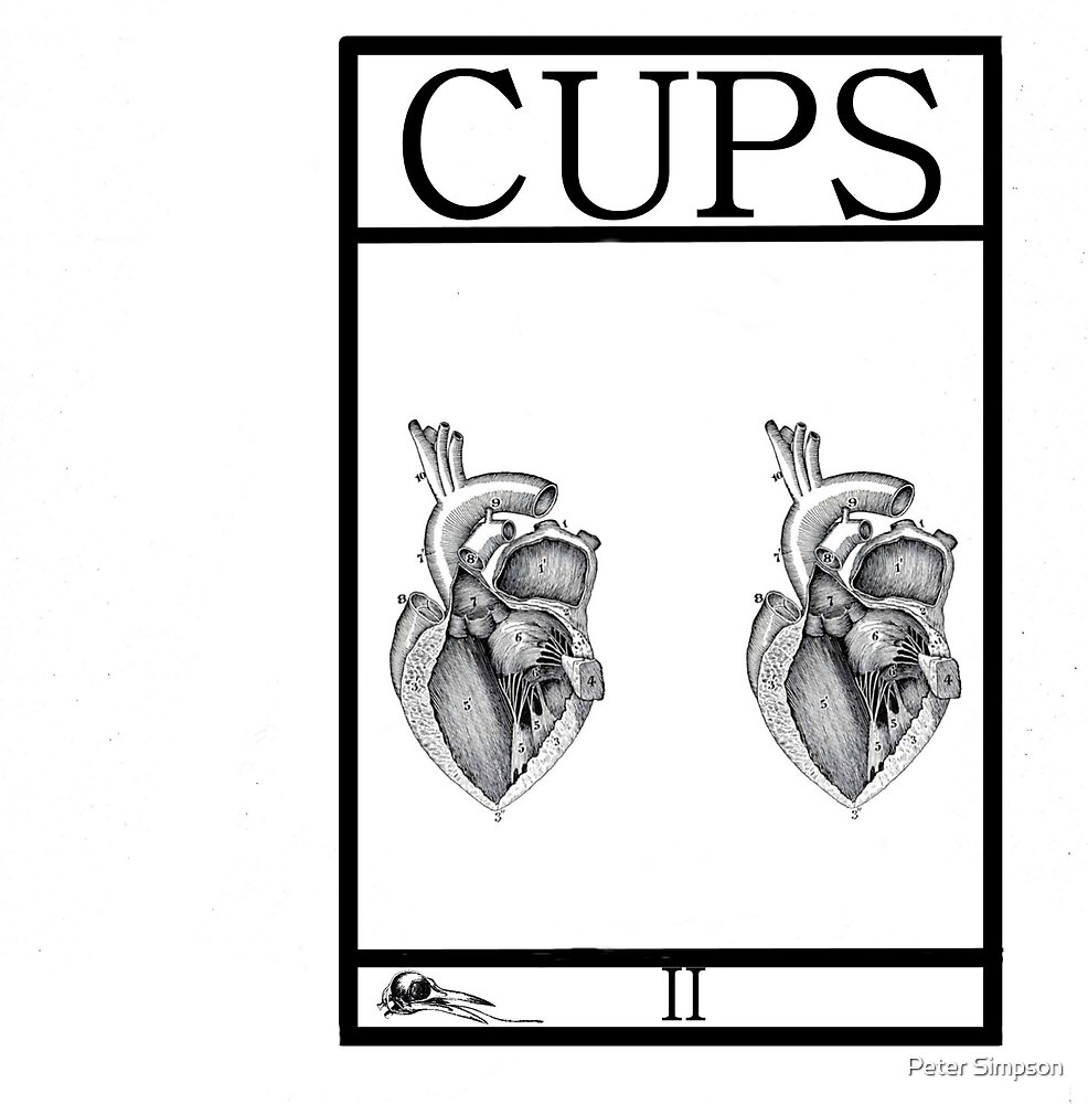 2 of Cups by Peter Simpson