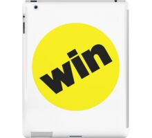 Win BuzzFeed Logo iPad Case/Skin