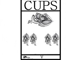 5 of Cups by Peter Simpson