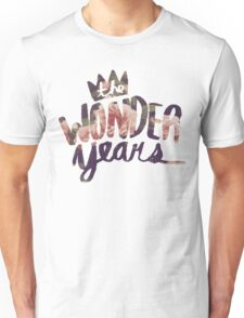 The Wonder Years floral logo  Unisex T-Shirt
