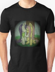 Fluttershy and Rarity - Rainy Day T-Shirt
