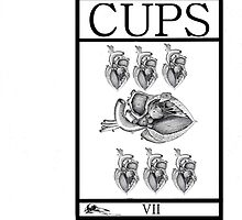 7 of Cups by Peter Simpson