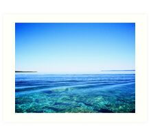 lake huron VII Art Print