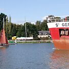 St Germain barges through by Alan Gillam