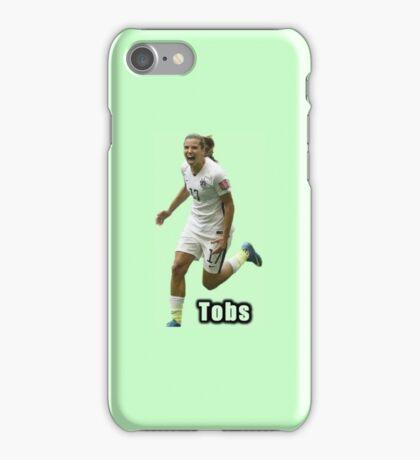 Tobin Heath after scoring world cup goal!! iPhone Case/Skin