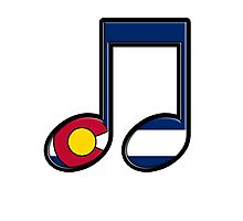 The Sound of Colorado is Music Photographic Print