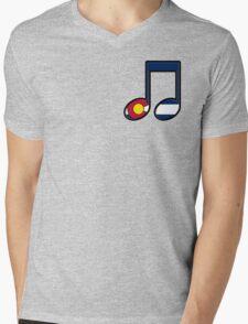 The Sound of Colorado is Music Mens V-Neck T-Shirt