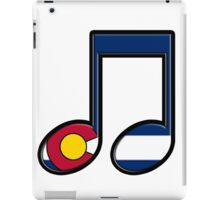 The Sound of Colorado is Music iPad Case/Skin
