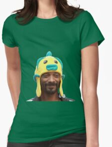 Snoop Doggy Dog Hat Womens Fitted T-Shirt