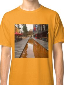 City Square on a wet day Melbourne VIC Australia Classic T-Shirt